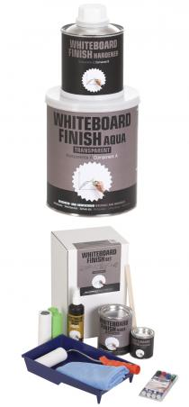 Milacor Whiteboard-Finish Aqua (transparent)